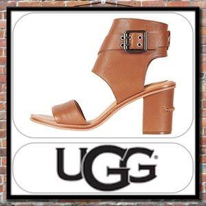 3c1b06cdd8514 UGG Shoes - UGG Claudette Block Heel Sandal